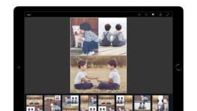 برنامج فوتوشوب لأجهزة ipad